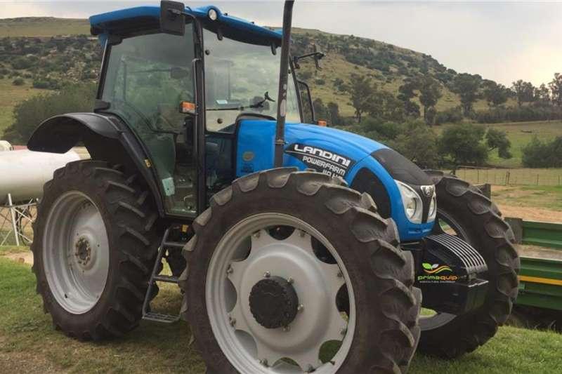Landini Tractors 4WD tractors Landini Powerfarm 110 HC 2018