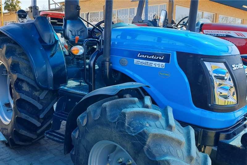 Landini 4WD tractors Landini Solis 110 Tractors