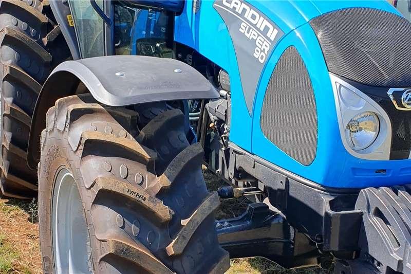 Landini 4WD tractors Landini Super 90 CAB Tractors