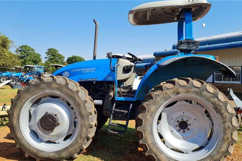 Landini 4WD tractors Powerfarm 110 HC plat Tractors