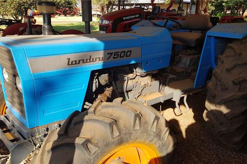 Landini Tractors Four Wheel Drive Tractors 7500