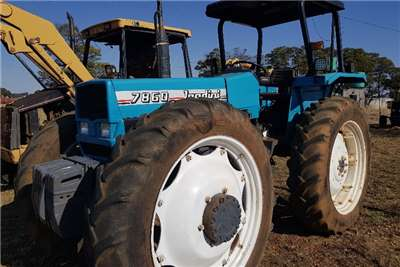 Landini Four wheel drive tractors 7860 High Clearance Tractors