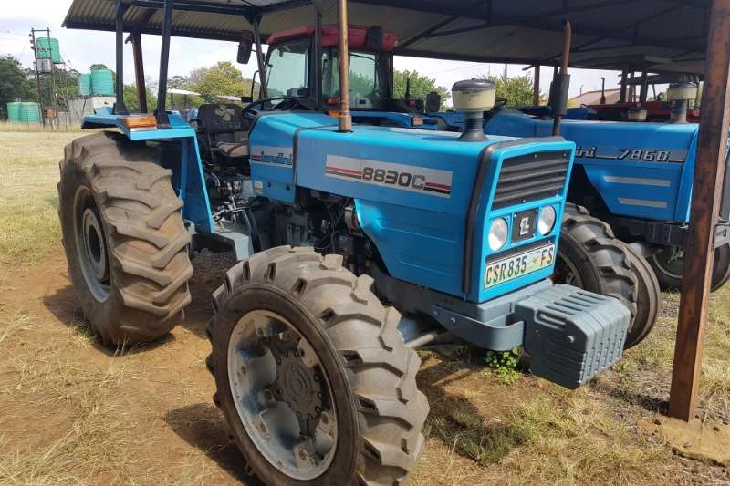 Landini Tractors Four wheel drive tractors 8830C with papers