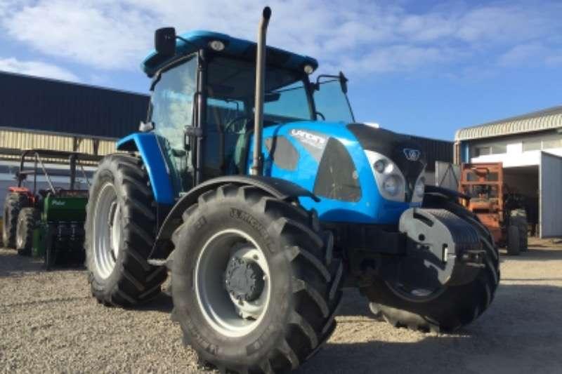 Landini Tractors Four wheel drive tractors Landforce 125 Cab RPS 2017