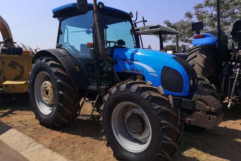 Landini Four wheel drive tractors Landini DT 95 Cab RPS Tractors