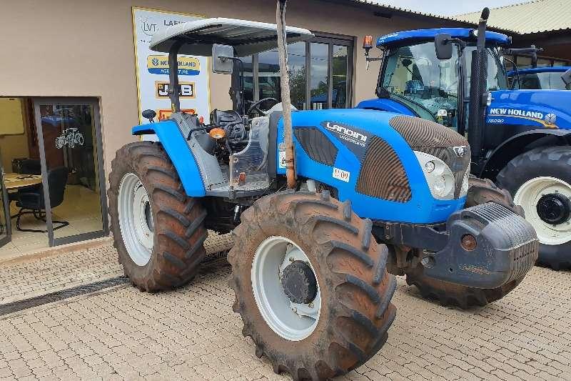 Landini Tractors Four wheel drive tractors Landini LandForce 115 Rops 2015