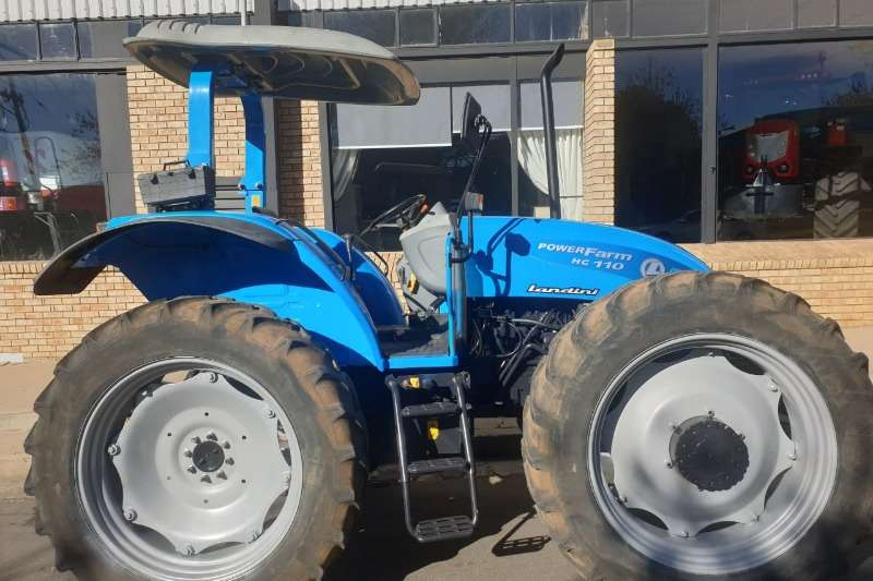 Landini Tractors Four wheel drive tractors Landini Powerfarm 110 H/C 2013