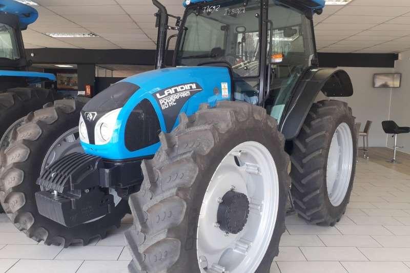 Landini Tractors Four wheel drive tractors Landini Powerfarm 110 H/C 2019