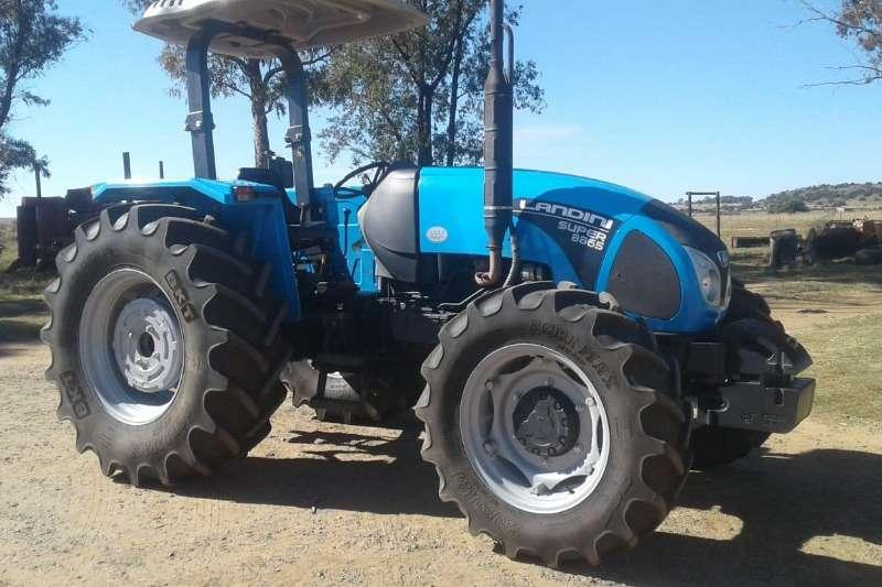 Landini Tractors Four wheel drive tractors Landini Super 8865 2017
