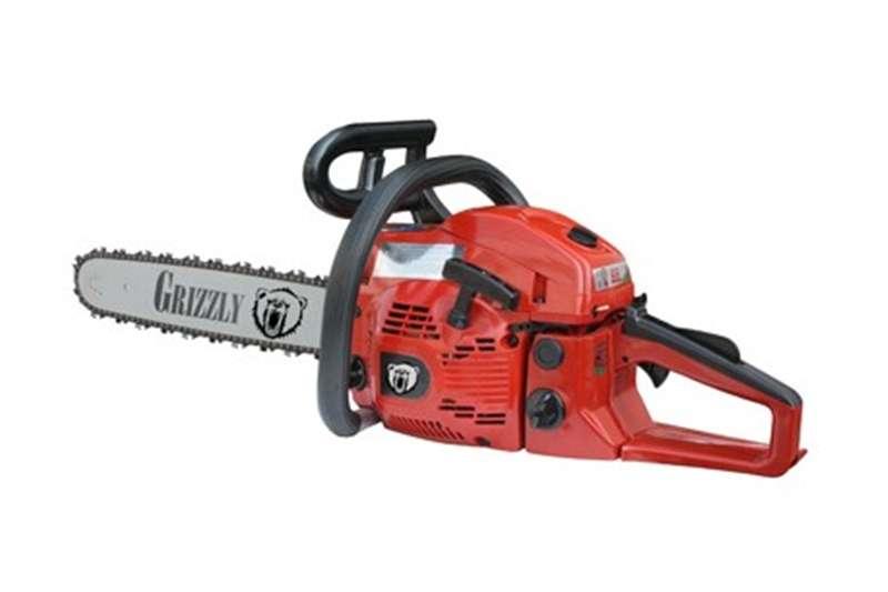 Lawn equipment Chain saws Grizzly Chain Saw 49 CC 20'' Blade