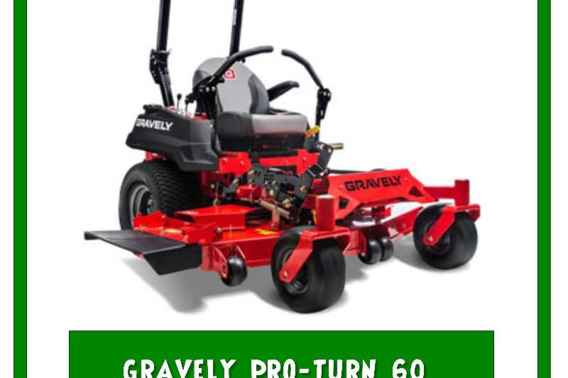 Lawn equipment Lawnmowers Gravely Proturn 60 Zero Turn Mower 2019