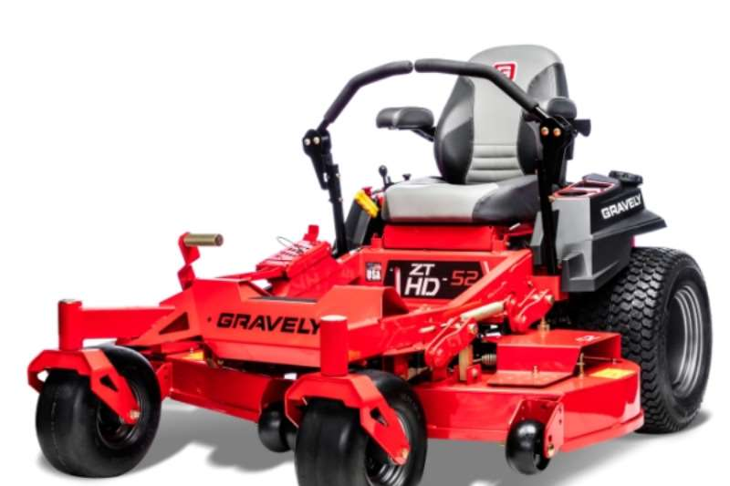 Lawn equipment Lawnmowers Gravely ZTHD 52 2019