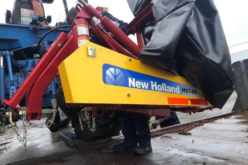 Lawnmowers H6740 Lawn equipment