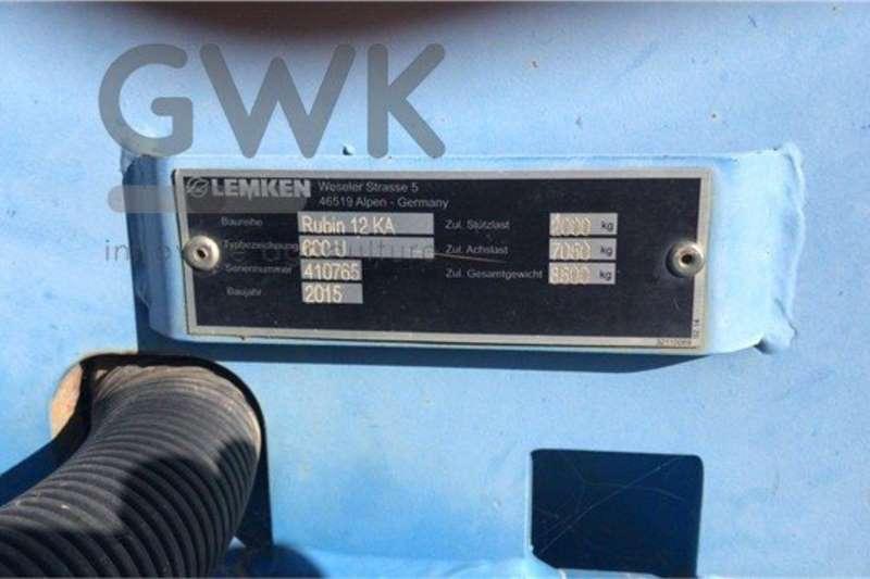 LEMKEN Disc harrows Lemken Rubin 12/600 KUA Tillage equipment