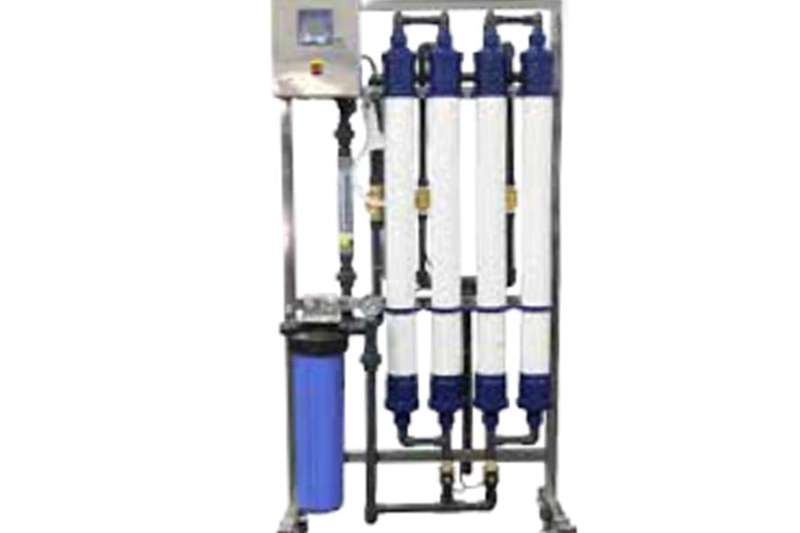 Light tower WCUF 1000: 1000 L/PH Ultra Filtration Water system