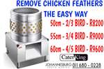 Feed choppers and grinders CHICKEN FEATHER PLUCKER Livestock