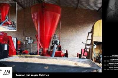 Feed mixers Tokman met Auger Elektries Livestock