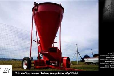 Feed mixers Tokman Voermenger Trekker Aangedrewe (On wheels) Livestock