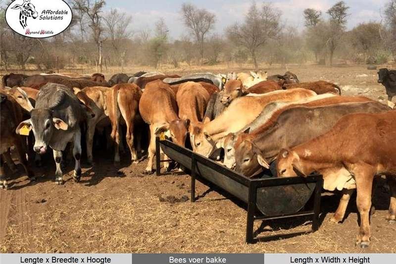 Feeding systems Cattle feeding troughs Livestock