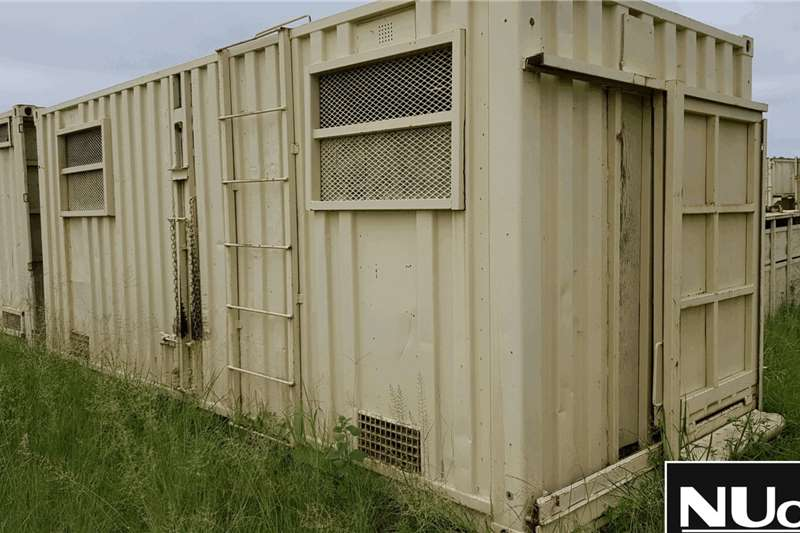Livestock Handling Equipment 6M WILDLIFE CONTAINER