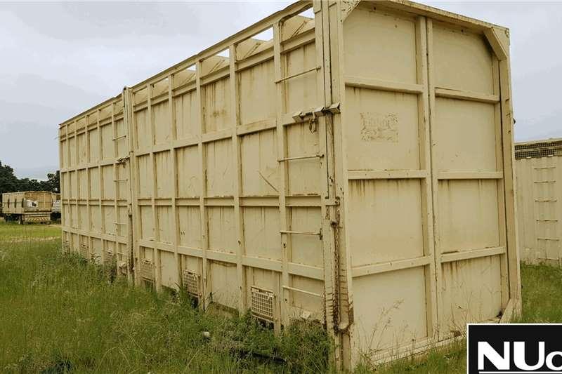 Livestock handling equipment ELEPHANT TRANSPORT CRATE