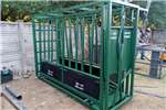 Livestock crushes and equipment Complete Cattle Body/ Neck clamp scale. Livestock handling equipment