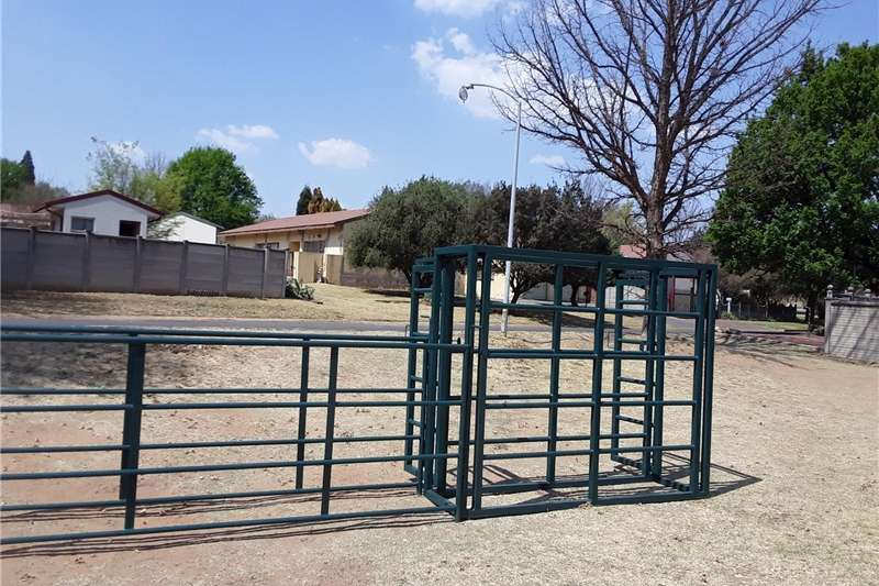 Livestock handling equipment Livestock crushes and equipment Farm gates and livestock handling equipment.