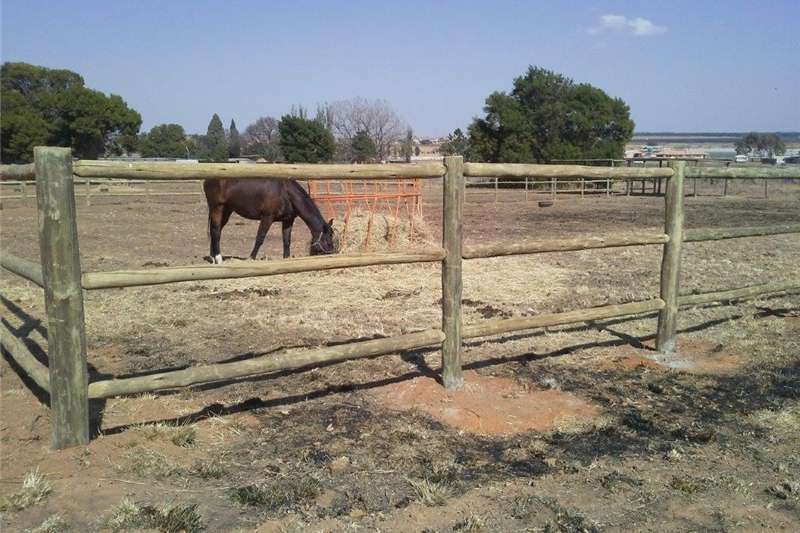 Livestock crushes and equipment post and rail fencing Livestock handling equipment