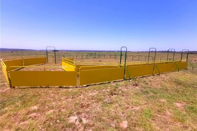 Livestock handling equipment Livestock crushes and equipment Skaap kraal te koop