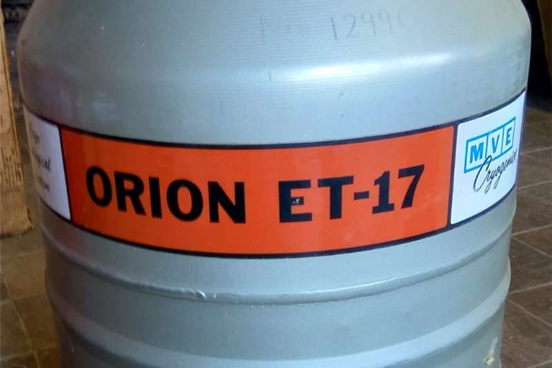 Livestock dipping and spraying Artificial Insemination Tank ( Orion ) ET   17 Livestock handling equipment