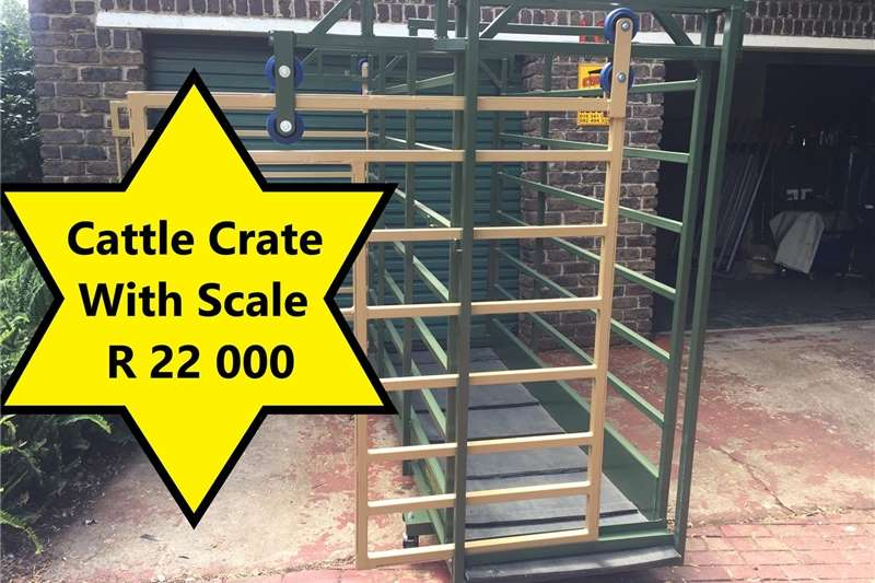 Livestock handling equipment Livestock scale equipment Cattle Scale / Beesskaal
