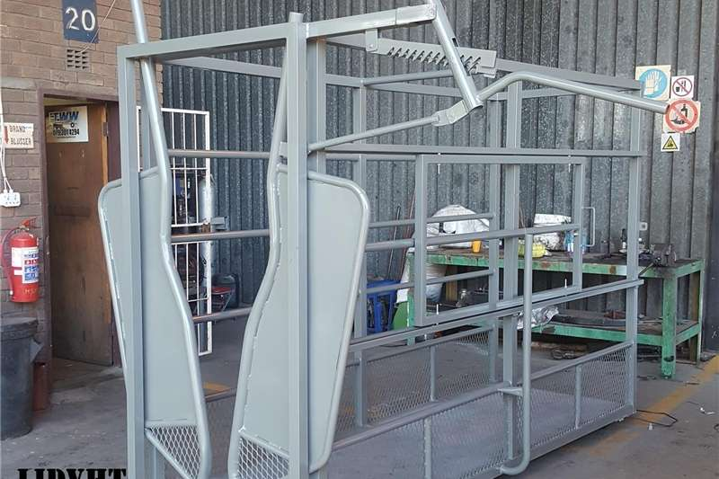 Livestock handling equipment Livestock scale equipment Complete Cattle Scale / Kompleet Bees Skaal