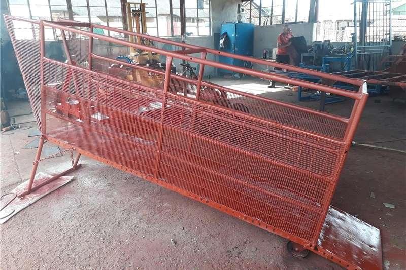 Livestock handling equipment Livestock scale equipment loading ramp 2.5 m