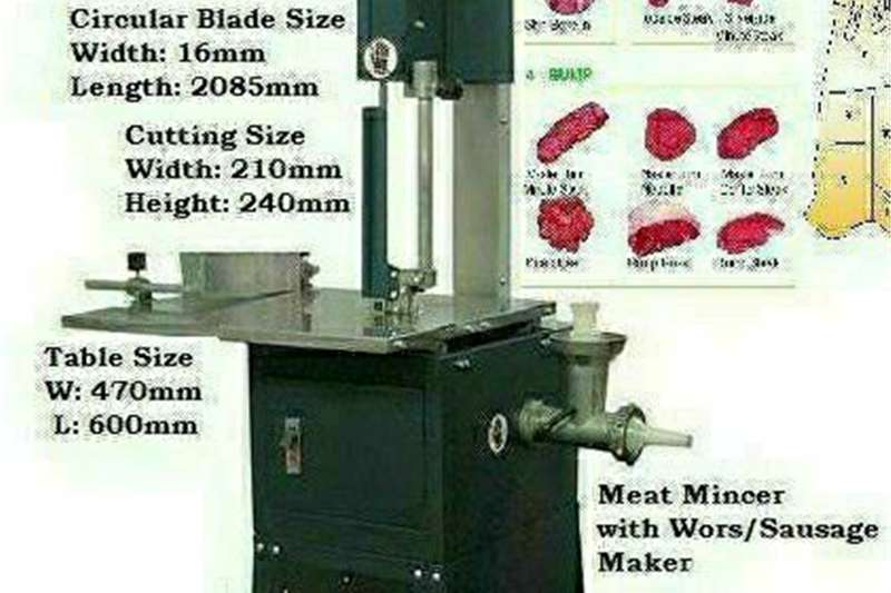 Livestock scale equipment New Meatsaw Bandsaw with Scale Livestock handling equipment