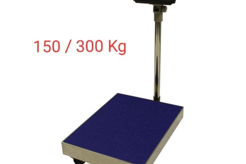 Livestock scale equipment Platform scale / Platform skaal Livestock handling equipment