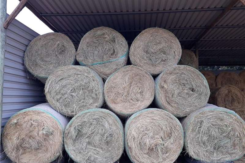 Livestock Livestock feed 5x4 Round Bales of Grass Hay