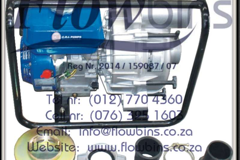Machinery Construction Gauteng: CRI Petrol / Diesel Driven WATER Pumps 2001