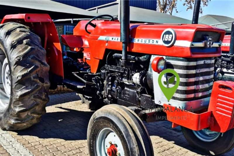 Massey Ferguson 188   75HP/55.9KW   Fully Refurbished Tractors