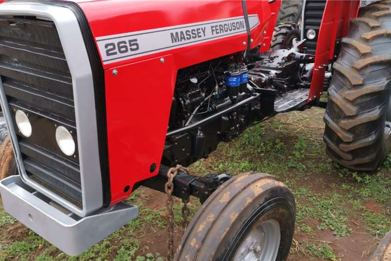 Massey Ferguson Tractors 2WD Tractors 1987 MF 265,