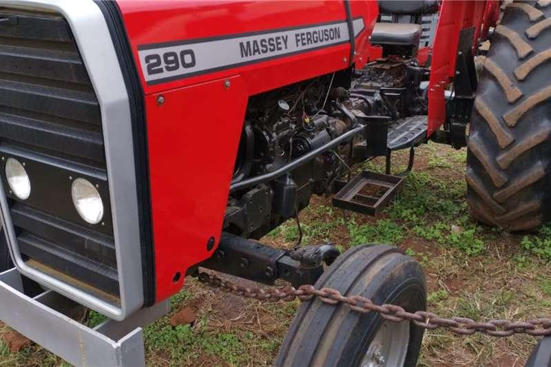 Massey Ferguson Tractors 2WD tractors 1988 MF 290 1988