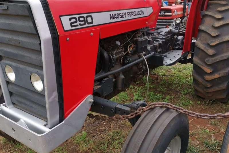 Massey Ferguson Tractors 2WD tractors 1990 MF 290, 55kw