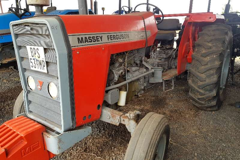 Massey Ferguson 2WD tractors 265 with papers Tractors