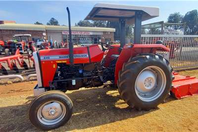 Massey Ferguson 2WD tractors Massey Ferguson 245 + 1.2M Slasher Combo Tractors