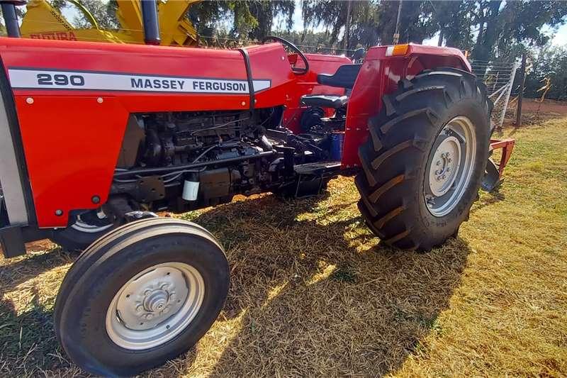 Massey Ferguson 2WD tractors Massey Ferguson 290 + 3 Skaar Ploeg Combo Deal Tractors