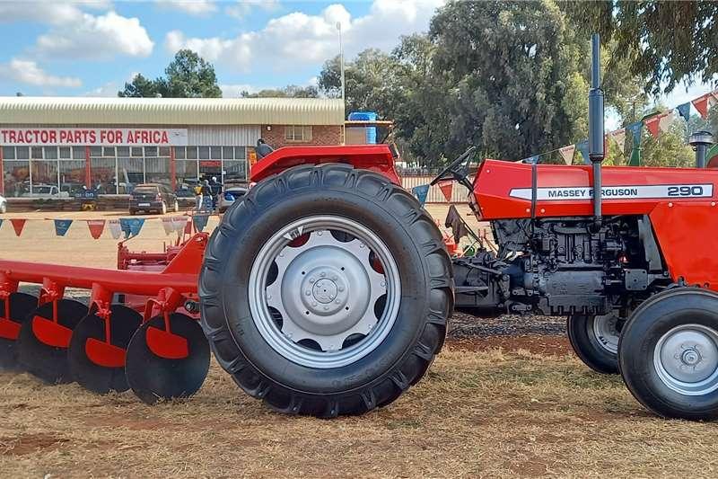 Massey Ferguson 2WD tractors Massey Ferguson 290 + 4 Skaar Skottel Ploeg Combo Tractors