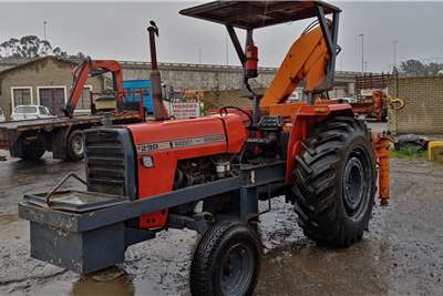 Massey Ferguson 2WD tractors Massey Ferguson 290 HIAB Tractors