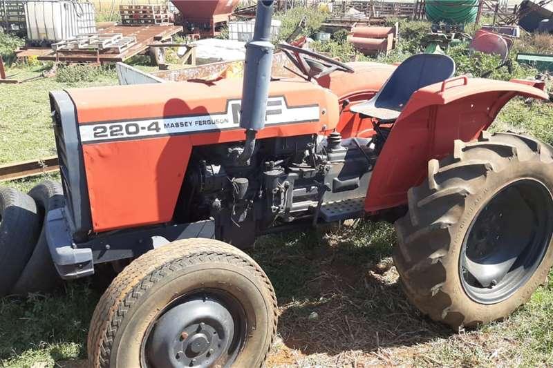Massey Ferguson 4WD tractors 220 4x4 Tractor Tractors