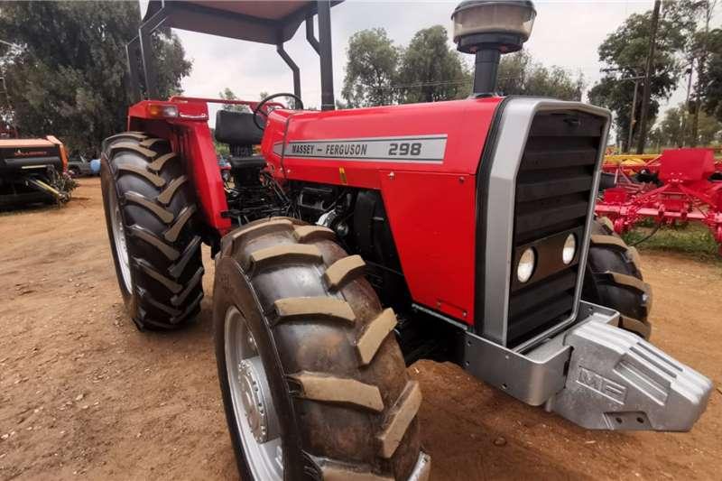 Massey Ferguson Tractors 4WD tractors 298 1990