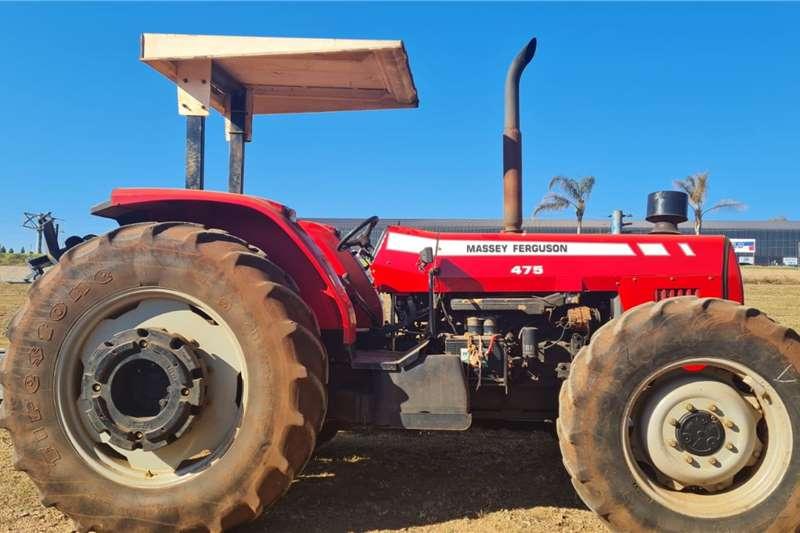 Massey Ferguson 4WD tractors 475 Tractors