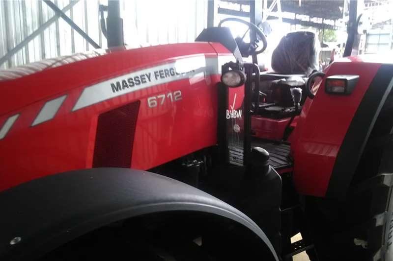Massey Ferguson 4WD tractors 4x7612 Power Shuttle Demos Tractors
